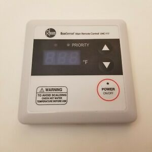Rheem Remote Control Thermostat for Tankless Water Heater UMC-117