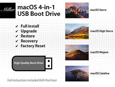 macOS 4-in-1 USB Boot Drive - Catalina - Mojave - High Sierra - Sierra