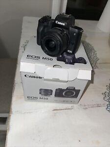 Canon EOS M50 Condition Brand New !!