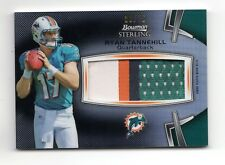 RYAN TANNEHILL NFL 2012 BOWMAN STERLING BLACK REFRACTOR MATERIAL #/75 (DOLPHINS)
