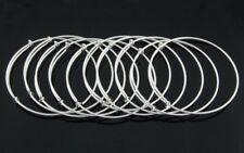 10 Fashion Silver Plated Charm Bracelet & Bangle Size Adjustable #P25
