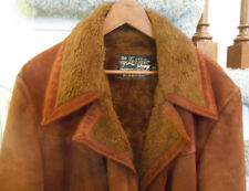 Men's leather winter coat -- SEE