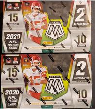 RANDOM TEAM BREAK 2020 Mosaic Football Hobby Box X 2 ***Read*** Burrow Tua
