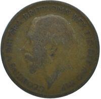 1922 HALF PENNY OF GEORGE V.     #WT15609
