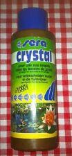 sera crystal 250ml 5000l pour une eau limpide bassin aquarium