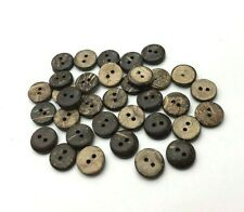 "3 to 48 pcs of Coconut Wood 2 hole BUTTONS 2.5/"" New 63mm"