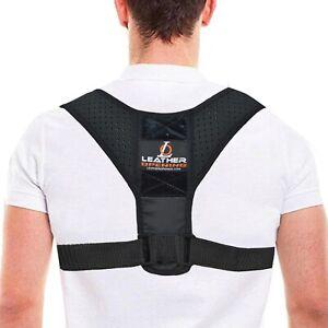 Posture Corrector Back Brace Body Adjustable Lumbar Shoulder Spinal Support Belt