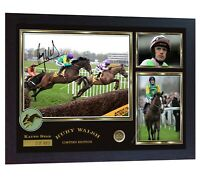 Ruby Walsh Kauto Star Limited Edition signed Horse Racing Jockey photo pr Framed