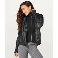 Lululemon Scuba Hoodie *Glyde PrimaLoft Zip Jacket Black Size 6 Sportswear