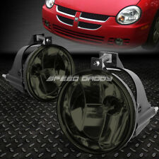FOR 03-05 DODGE NEON SRT-4 SMOKED CRYSTAL LENS OE BUMPER DRIVING FOG LIGHT LAMP