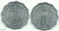 INDIA 10 Paise 1976 KM# 30  Ø 26 mm. FAO