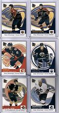 2002/03 McDONALDS 6 CARD INSERT SET CLEAR ADVANTAGE