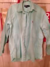 """Ralph Lauren Shirt Peppermint Green Shirt Large 44"""""""