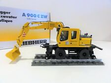 "NZG 544 LIEBHERR A900 C ZW Road Rail Wheel Excavator ""DB BAHNBAU"" -1:50- ""NEW"""