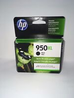 NEW Genuine HP 950XL Ink Cartridge  Black CN045AN#140 OEM Exp 2021-2022