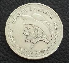 CANADA QUEBEC 1984 SIEUR DE LAVIOLETTE TROIS RIVIERES 350° ANNIVERSARY 1 DOLLAR