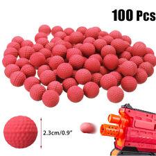 100Stk Spielzeug Pistole Rot Kugeln Munition Für Nerf Rival Apollo Zeus Refill