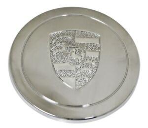 00-9718-0 Chrome Stainless Steel Cap, EMPI Logo, For EMP 911 Alloys & Gasser Whe