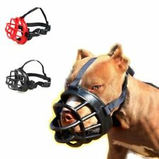 Dog Muzzles Pet Soft Barking Silicone Mouth Mask Anti Bark Bite Muzzle Pitbull