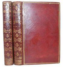 LUCAIN La Pharsale de Lucain traduction Marmontel Plein maroquin rouge 1766