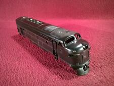 HO ATLAS F7A DIESEL LOCOMOTIVE - UNDECORATED SHELL - BLACK