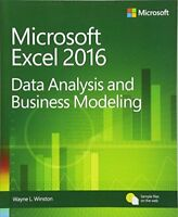 Microsoft Excel Data Analysis and Business Modeling (5th Edition) by Winston,…