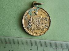 1911 CORONATION  BRONZE MEDAL GEORGE V STOKES COMMONWEALTH CELEBRATION #ROB90