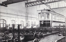 Postcard Size Transport Real Photograph - Burnley Corp. Tramways 40C 1905
