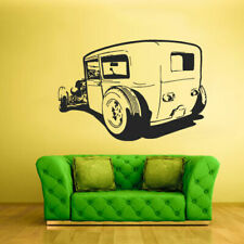 Wall Decal Vinyl Sticker Hot Rod Car Auto Automobile Gift Old Muscule (Z2300)