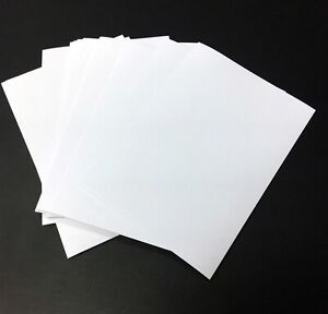 A6 Self Adhesive Labels Blank Paper Suitable with All Printers Pack: 10 - 2000