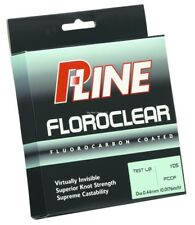 2 NEW P-Line Floroclear Fluorocarbon Coated Mono 300Y 25Lb Clear FCCF-25