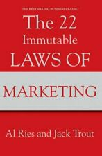 The 22 Immutable Laws Of Marketing by Al Ries 9781861976109 | Brand New