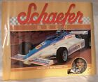 INDIANAPOLIS 500 POSTER FROM 1987, SCHAEFER BEER SPONSOR, 18x24