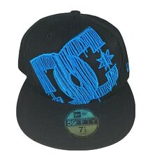 DC Skateboard New Era 59 Fitted Baseball Hat Cap Size 7 1/4