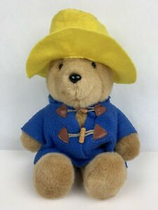 "Vintage Undated Paddington Bear Plush 14"" Doll Stuffed Toy Eden Toys"