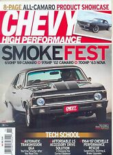 CHEVY HIGH PERFORMANCE-NOVEMBER 2015 (NEW/LATEST ISSUE)