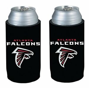 Atlanta Falcons NFL 2 pack Ultra Slim Can Koozie cooler hugger