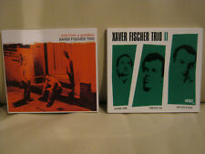 2x Xaver Fischer Trio: Visit From A Goddess; Trio II -- 2 CDs