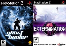 Ghost Hunter & exterminio formato PAL sólo PS2