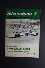 Silverstone 77 3rd April 1977 British Automobile Racing Club   - (REF - TS)