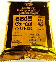 Harischandra Ceylon Natural Black Coffee 100% Original A Grade Quality 20g-200g