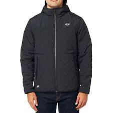 Fox Racing Skyline Hooded Zip Up Jacket Hoody Black Men's XLarge BRAND NEW