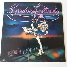 VA - 1973 Reading Festival - Vinyl LP UK 1st Press EX+ The Faces Rory Gallagher