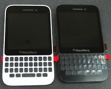 Oem Blackberry Q5 Digitizer Touch+Lcd Display Screen+ Frame Assembly Black/White