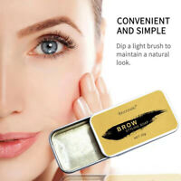 Eyebrow Shaping Soap Long Lasting Eye Brow Makeup Styling Gel Wax with Br JdMWTR