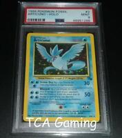 PSA 9 MINT Articuno 2/62 Fossil Set HOLO RARE Pokemon Card