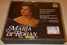 DONIZETTI-MARIA DI ROHAN-2xCD 1991-DE BERNART-MARIANA NICOLESCO/GIUSEPPE MORINO