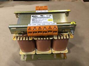 Elca GITT00900U21001 Insulation Transformer 3 ph 1 kva 400/480 #74DKTK