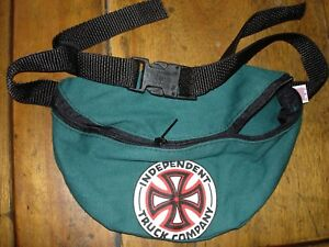 Vintage 1980's Independent Truck Company Skateboard Zipper Hip Fanny Pack USA