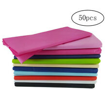 50pcs Tissue Paper Bulk Wrapping Tissue Paper Art Rainbow for Art Craft Floral